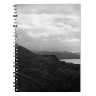 Bantry Bay from Tunnel Road Ireland. Spiral Notebook