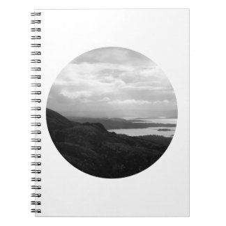 Bantry Bay from Tunnel Road Ireland. Spiral Notebooks