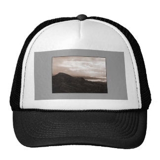 Bantry Bay, Tunnel Road Ireland. Warm Sepia Colors Trucker Hat