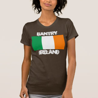 Bantry, Ireland with Irish flag T-Shirt