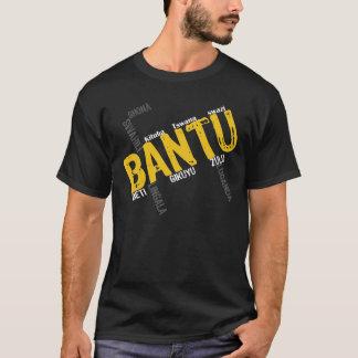 bantu-Black Regular T-Shirt