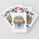 Banuelos Family Crest Bicycle Playing Cards