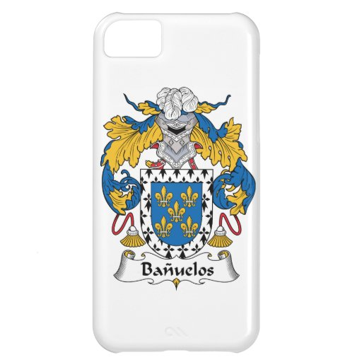 Banuelos Family Crest iPhone 5C Covers
