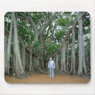 Banyan Tree Edison & Ford Estate Ft Myers Florida Mouse Pad