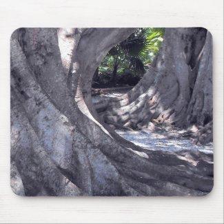 Banyan Trees mousepad