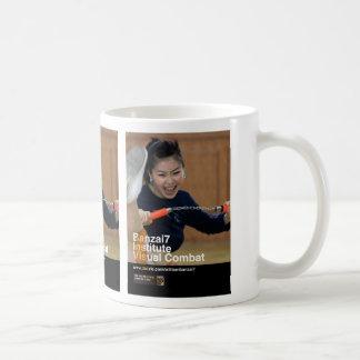 Banzai7 Visual Combat Kicker! Coffee Mug