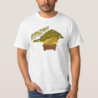 ¡Banzai! (A los árboles del bebé!) camiseta v.1 Polera