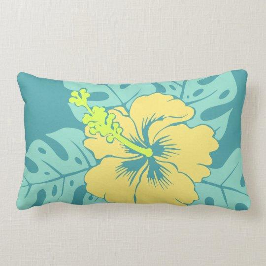 Banzai Beach Hawaiian Hibiscus Lumbar Pillows