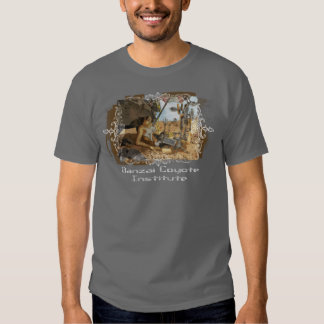 Banzai Coyote Institute Dark Shirt