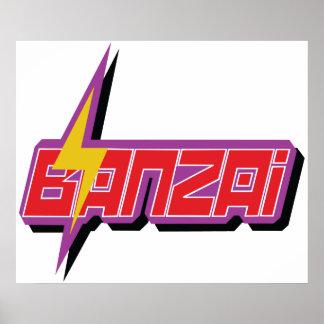 Banzai Logo Poster