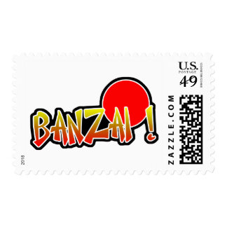 Banzai Postage Stamp