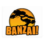 Banzai Postcard