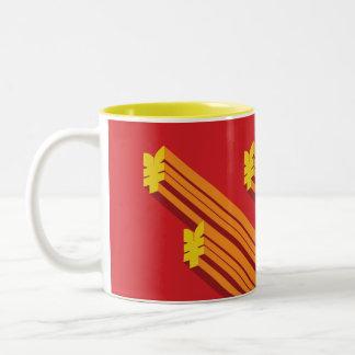 Banzai Red Characters Mug