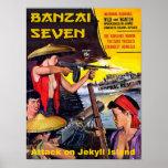 Banzai Seven - Attack on Jekyll Island Poster