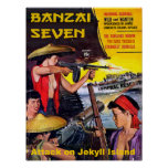 Banzai siete - Ataque contra la isla de Jekyll Póster
