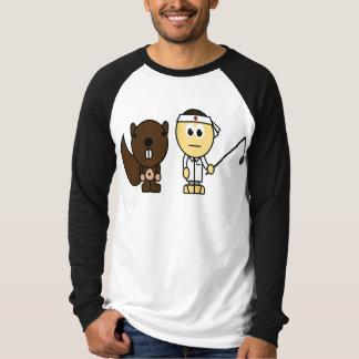 Banzai Squirrel Fishing T-Shirt