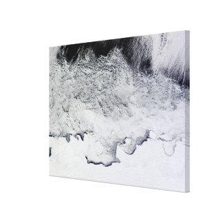 Banzare, Sabrina, and Budd Coasts, Antarctica Canvas Print