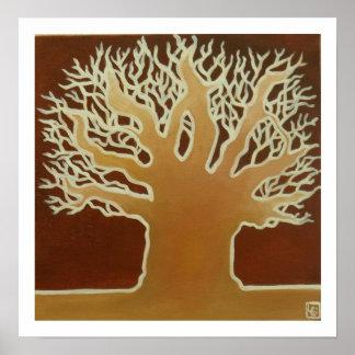 Baobab africano #2 póster