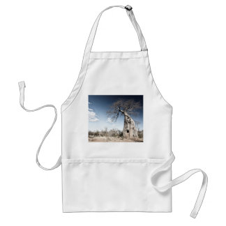 Baobab Tree at Mana Pools National Park, Zimbabwe Adult Apron