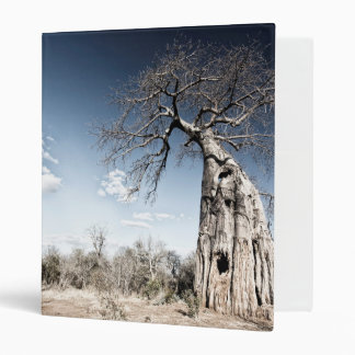 Baobab Tree at Mana Pools National Park, Zimbabwe Binder