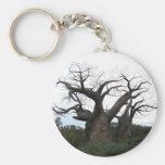 Baobab Tree Keychain