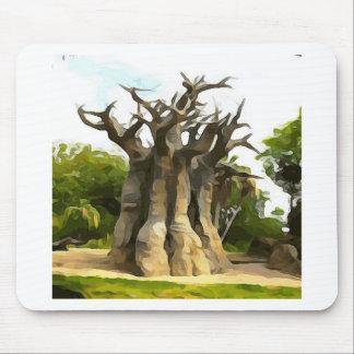 Baobub Tree Mouse Pad
