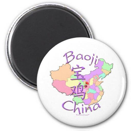 Baoji China 2 Inch Round Magnet