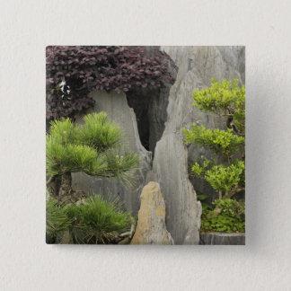 Bao's family garden, Huangshan, China. 2 Pinback Button