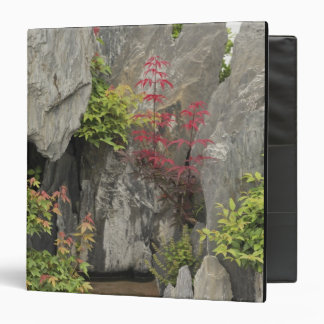 Bao's family garden, Huangshan, China. 3 Ring Binder