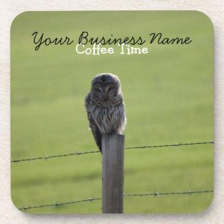 BAOW Barred Owl Coaster