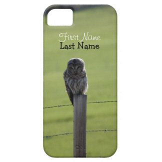 BAOW Barred Owl iPhone SE/5/5s Case
