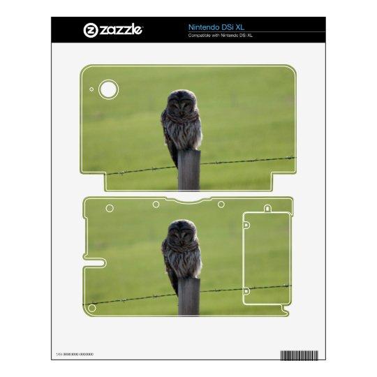 BAOW Barred Owl Skins For Nintendo DSi XL
