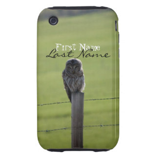 BAOW Barred Owl Tough iPhone 3 Cover