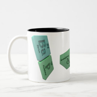 Bap as Ba Barium and P Phosphorus Mugs