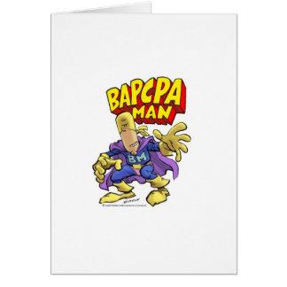 BAPCPA Man Note Card
