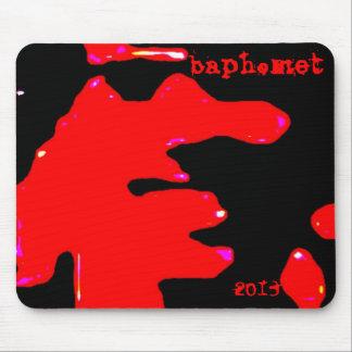 Baphomet 2013 splatterface mousepade mouse pad