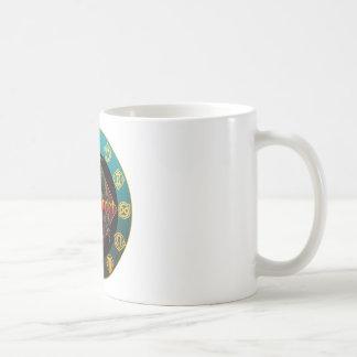baphomet and horoscope mugs