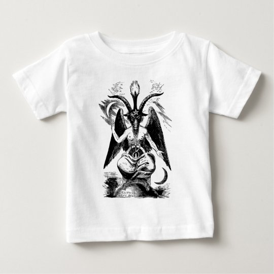 Baphomet (black) baby T-Shirt