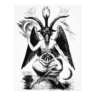 Baphomet (black) flyer