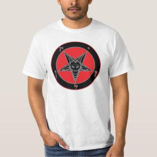 Baphomet (Black, Red, and Grey) T-Shirt