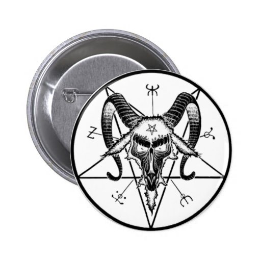Baphomet Button/Pin