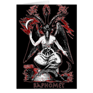 Baphomet Card