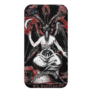 Baphomet Cover For iPhone 4