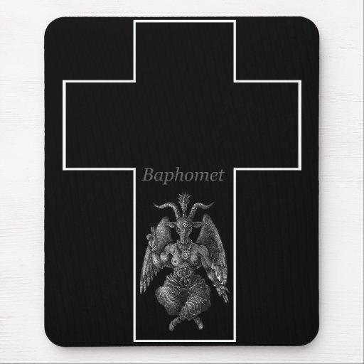 Baphomet Cross マウスパッド