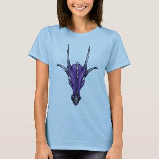 Baphomet Draconis - purple dragon T-shirt