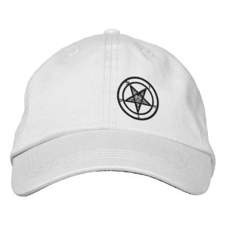Baphomet Hat Embroidered Baseball Cap