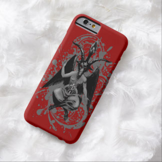 Baphomet: horned god of witches and witchcraft, barely there iPhone 6 case