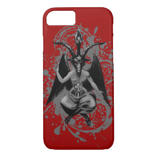 Baphomet: horned god of witches and witchcraft, iPhone 7 case