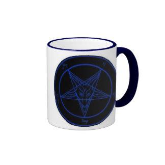 Baphomet In Blue Coffee Mug