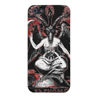 Baphomet Cover For iPhone 5